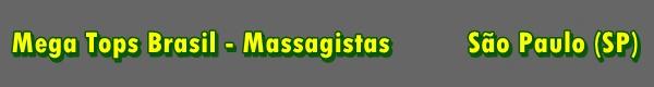 Massagistas - Estado de São Paulo (SP)